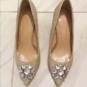 New crystal high heel - Size 6